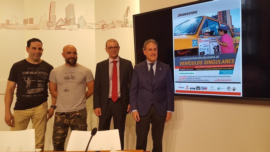 """La """"IV Concentración Solidaria de Vehículos Singulares"""" de Bilbao contará con más de un centenar de automóviles"""