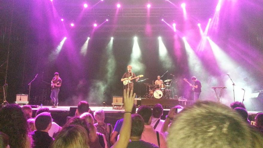 Un concierto de la Gran Fira en Viveros