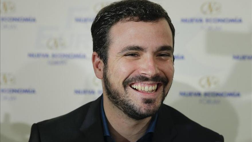 """Garzón, convencido de que IU """"romperá las encuestas"""" y dará la """"sorpresa"""""""