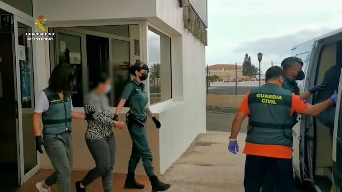 Detención por parte de la Guardia Civil