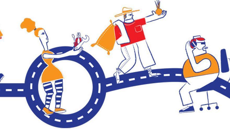 Una de las imágenes que ilustran las áreas temáticas que se tratarán en el Congreso.