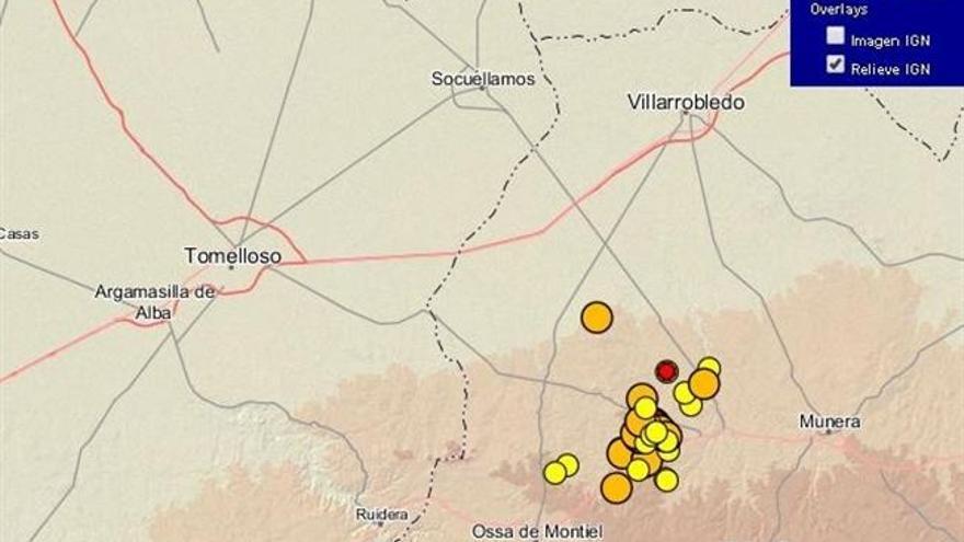 Réplicas del terremoto de Ossa de Montiel, 25/2/15 / Foto: Instituto Geológico Nacional