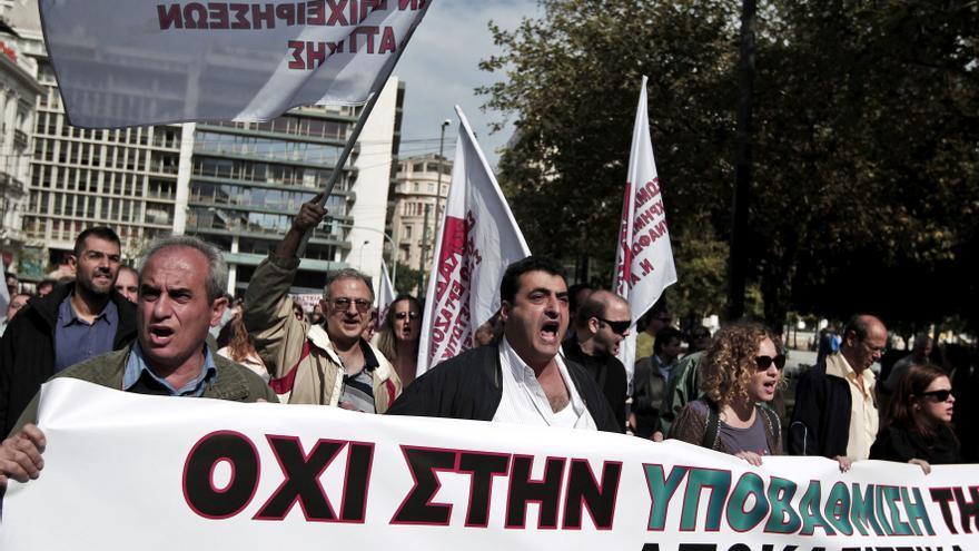 Grecia comienza una semana de huelgas contra las medidas de austeridad