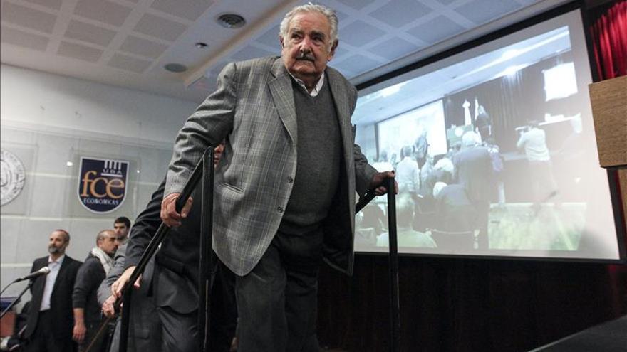 Mujica, investido doctor Honoris Causa por la Universidad de Buenos Aires./EFE