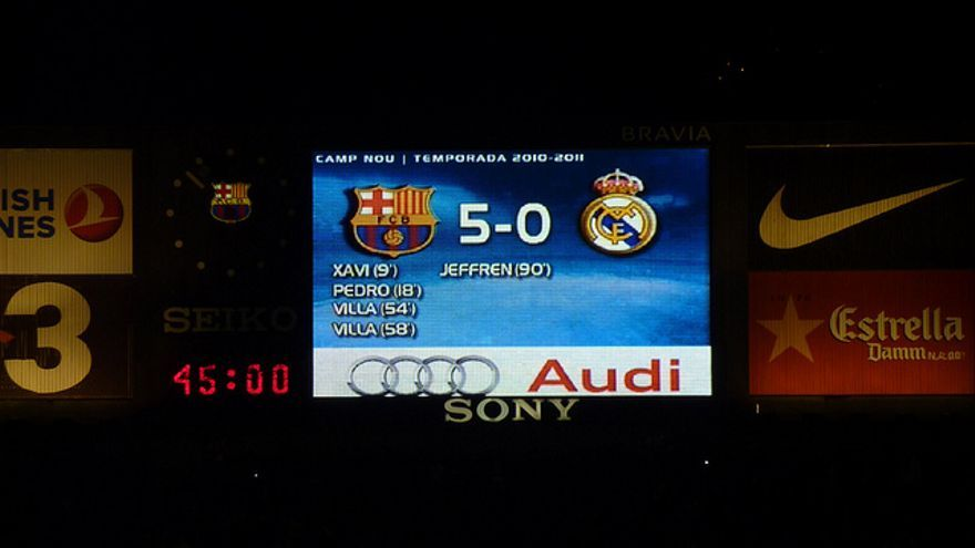 El marcador ideal para los aficionados del Barça y para los políticos. Foto: Flickr de Markus Unger.