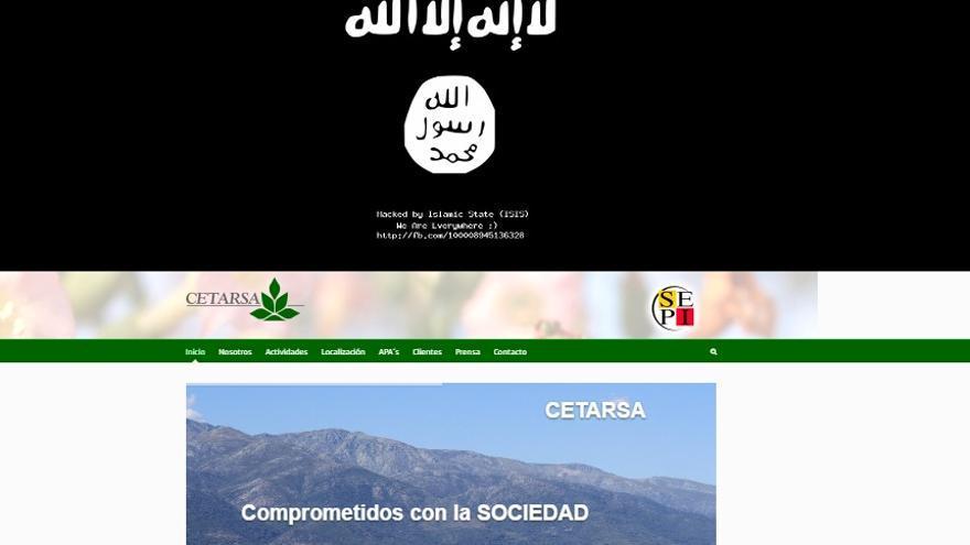 Ataque informático a la página de Internet de Cetarsa