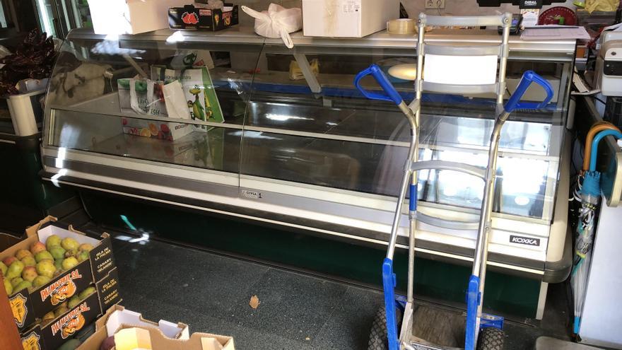 Una cámara frigorífica del mercado municipal de Santa Cruz de La Palma (Foto facilitada por Ciudadanos)
