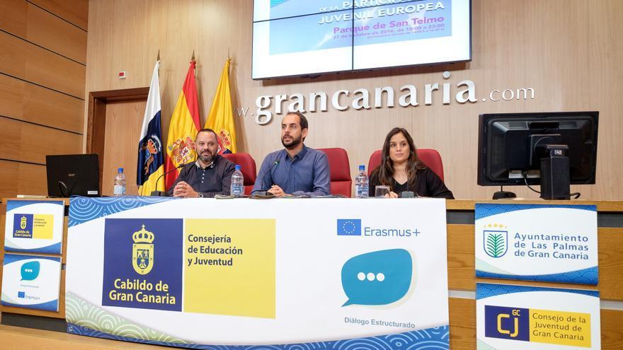 Presentación de la Feria de la Juventud Europea