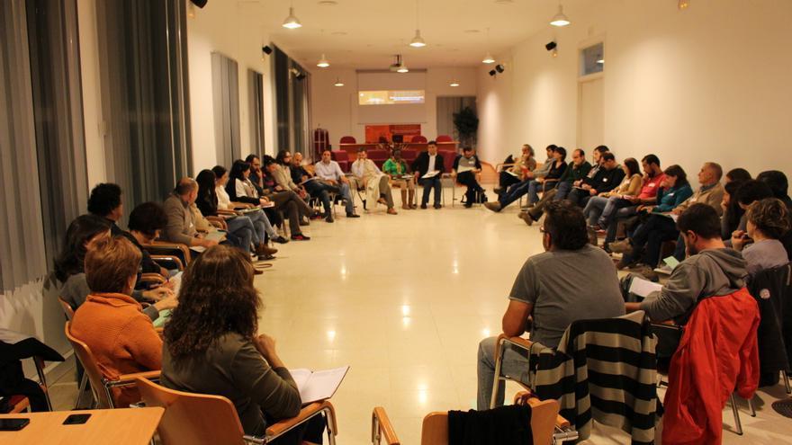Una imagen del encuentro sobre participación social