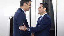 """El presidente andaluz exige a Pedro Sánchez que le reciba antes que a Quim Torra, """"un presidente inhabilitado"""""""