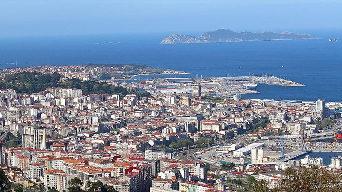 Panorámica de Vigo.