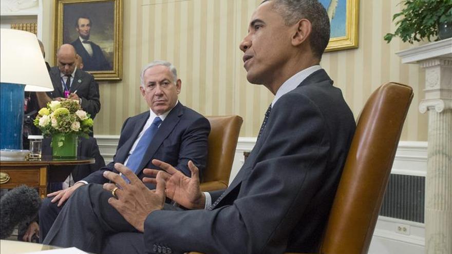 """Obama subraya ante Netanyahu el """"deterioro"""" de la seguridad en Oriente Medio"""