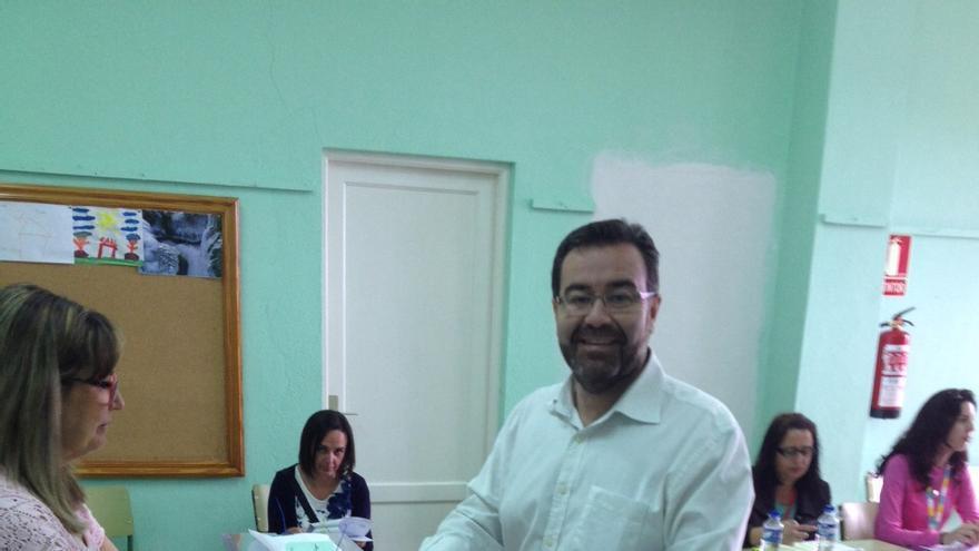 Ángel Alonso de Paz es candidato del PP a la Alcaldía de Breña Alta.