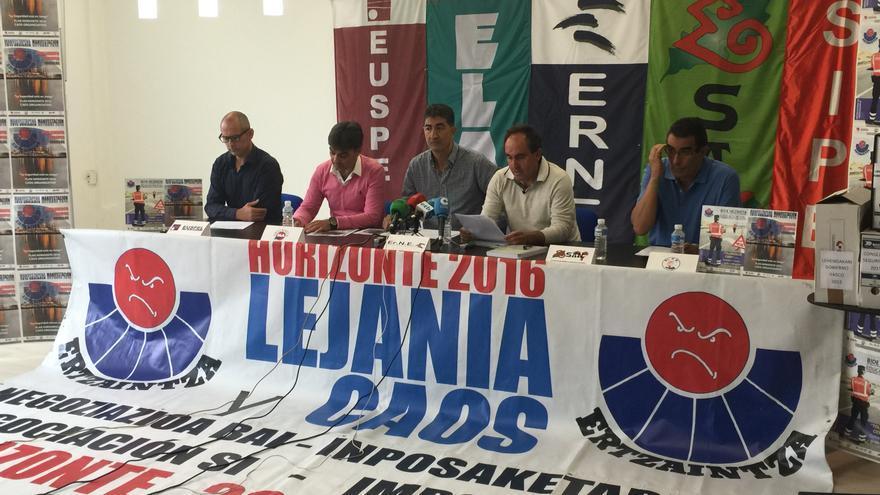 Todos los sindicatos de la Ertzaintza anuncian nuevas protestas para este verano.