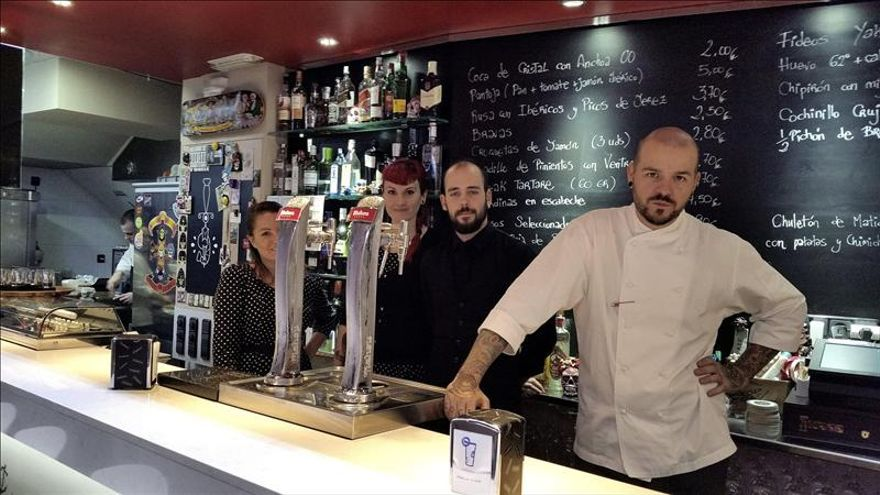 Un bar de tapas de huesca gana una estrella michelin con for Estrella michelin cocina