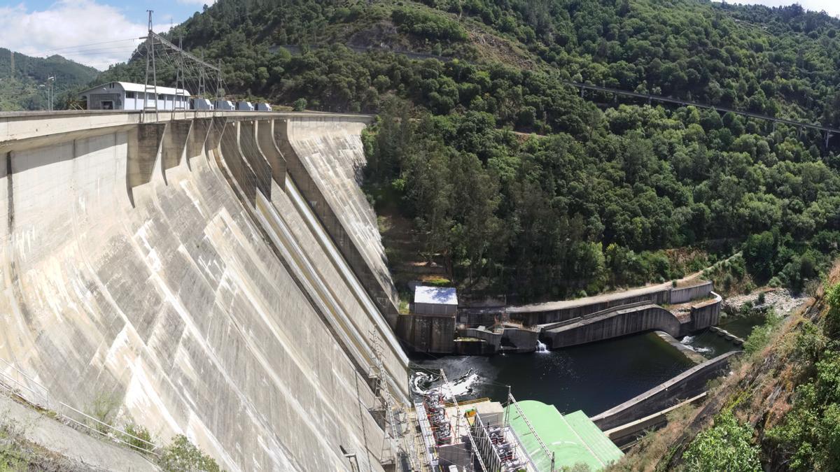 Central hidroeléctrica Os Peares, en Lugo