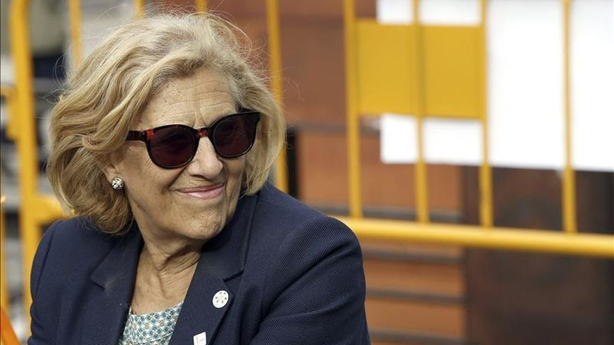 Carmena admite sus dudas sobre la aplicación de todo el programa de la campaña
