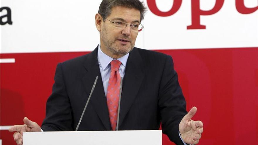 Catalá asegura que el Supremo avanza en la investigación de los ERE