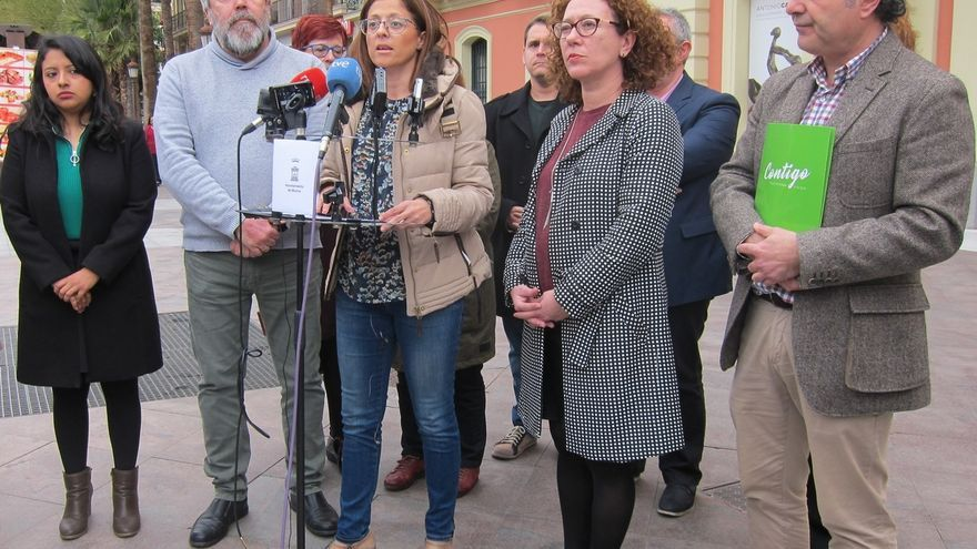 PSOE, Ahora Murcia, Cambiemos y un concejal no adscrito firman moción de censura contra el alcalde