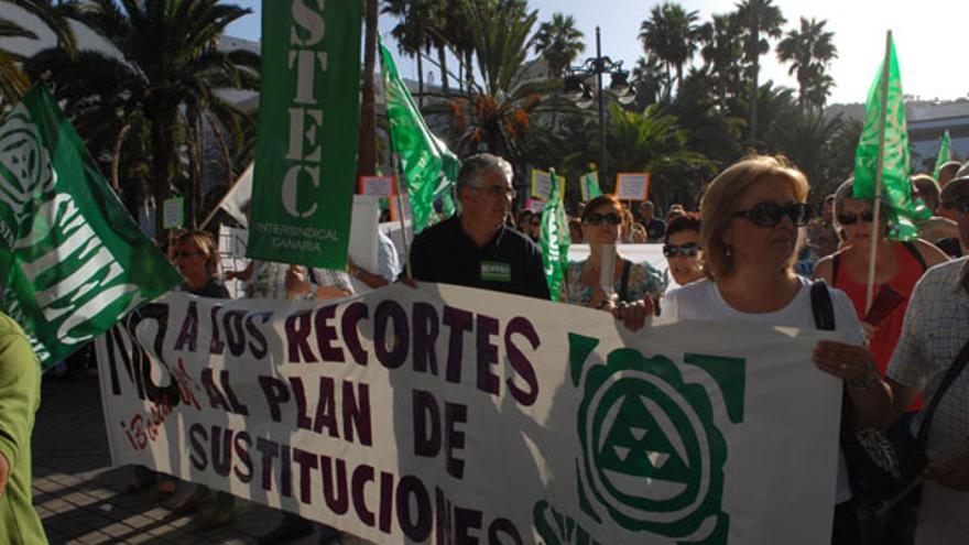 Protestas del jueves. (ACFI PRESS)