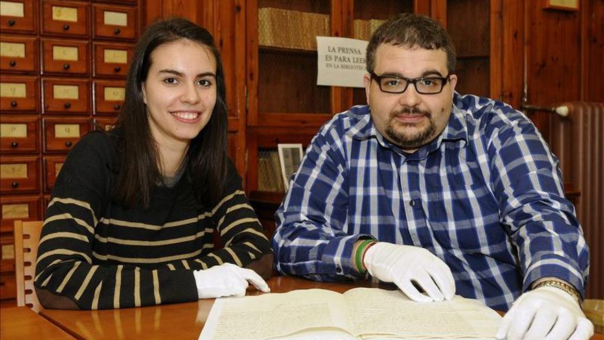 Desvelan un manuscrito del I Decreto de Abolición de la Inquisición en España