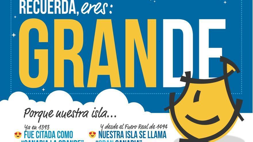 Campaña de concienciación: 'Recuerda: eres de Gran Canaria'