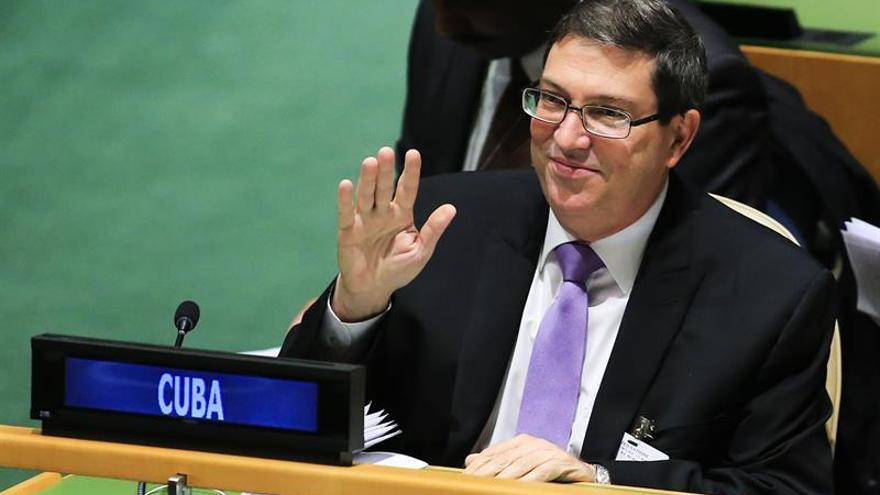 Cancilleres de Cuba y Noruega conversan sobre diálogos de paz de Colombia