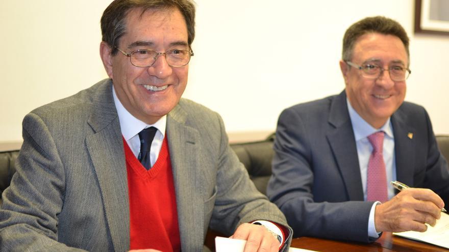 Antonio Martinón (izquierda) y Fernando Berge