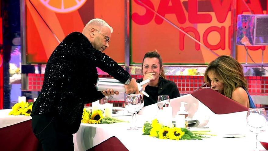 Jorge Javier, Begoña Rodrigo y María Patiño en 'La última cena'