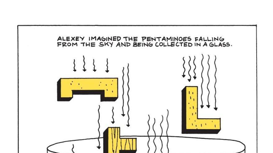 Comic Tetris y su creador