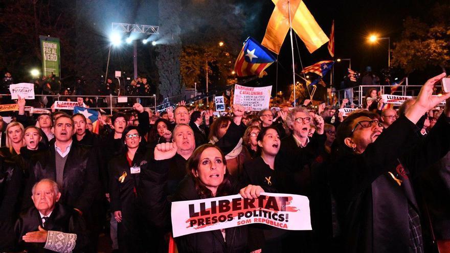 Manifestación 'Libertad presos políticos. Somos República'
