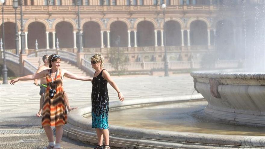 Alerta naranja por calor en Andalucía por temperaturas de más de 40 grados