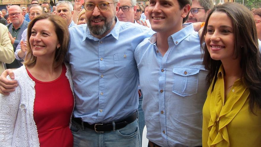 """Ciudadanos ve """"impensable"""" apoyar un pacto en el que esté el PNV para favorecer el gobierno de Rajoy"""