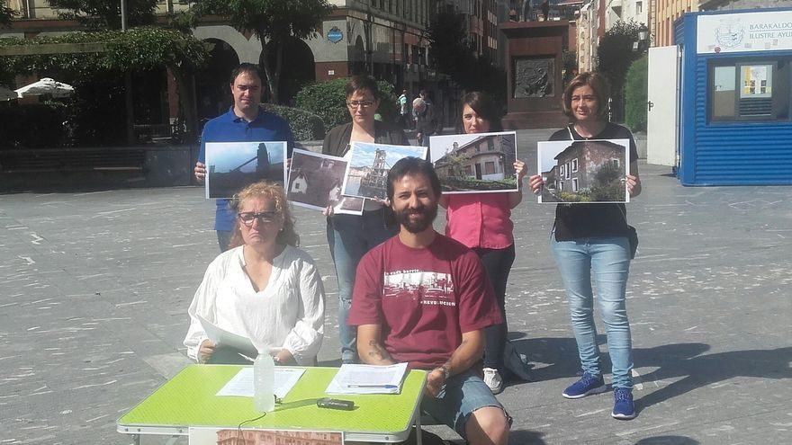 Podemos e Irabazi de Barakaldo emplazan al equipo de gobierno a impulsar iniciativas en favor del patrimonio histórico