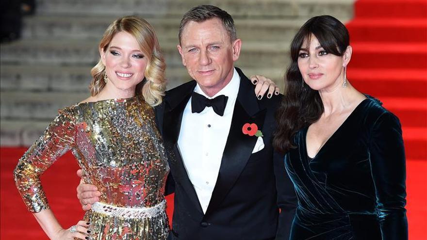 """El último James Bond, """"Spectre"""", bate récords de taquilla en Reino Unido"""