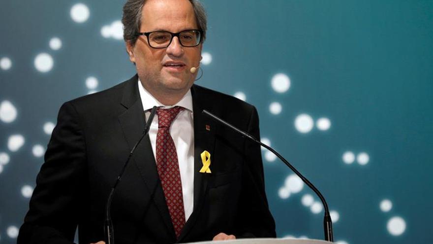 El Tribunal Supremo archiva la querella de Torra contra Rajoy y Sáenz de Santamaría
