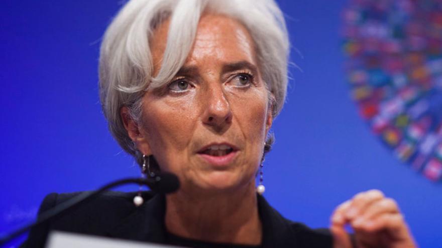La directora gerente del Fondo Monetario Internacional (FMI), Christine Lagarde / EFE