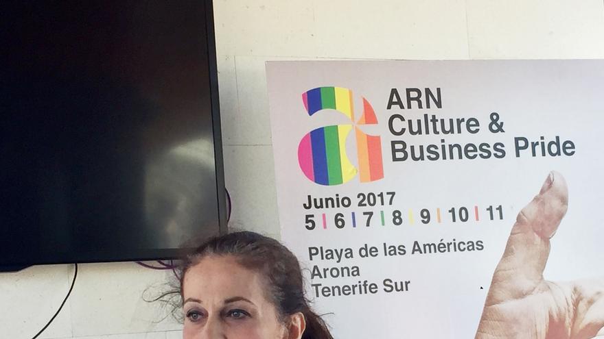Carla Antonelli, este sábado en su charla del festival ARN Pride