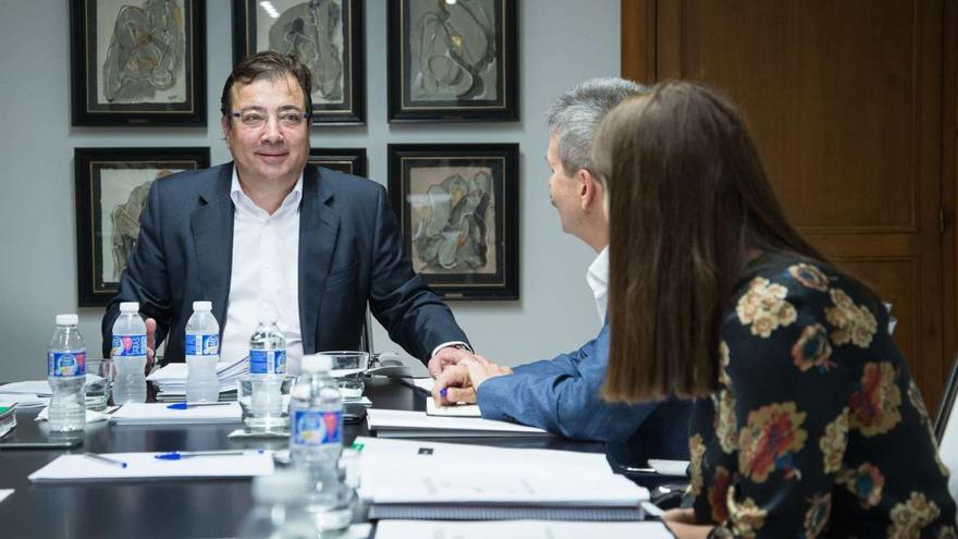 Fernámdez Vara, en el Consejo de Gobierno / Junta
