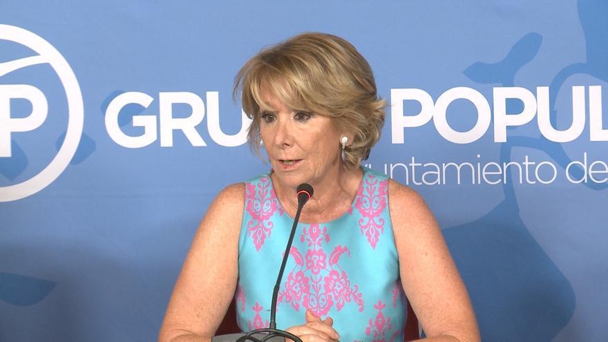 Aguirre asegura que la presunción de inocencia vale tanto para Rita Barberá como para Artur Mas