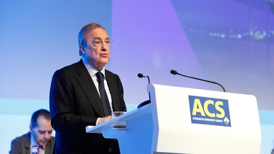 El presidente de ACS, Florentino Pérez.