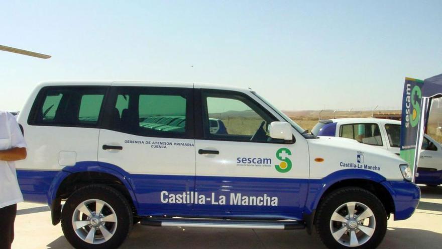 Vehículo de la Junta de Castilla-La Mancha (SESCAM)