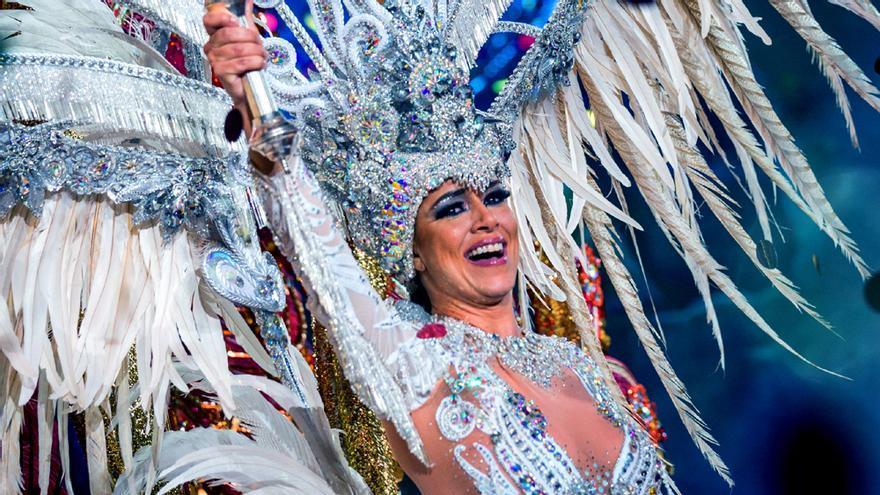 Carmen Laura Lourido Pérez, Reina del Carnaval de Tenerife 2018