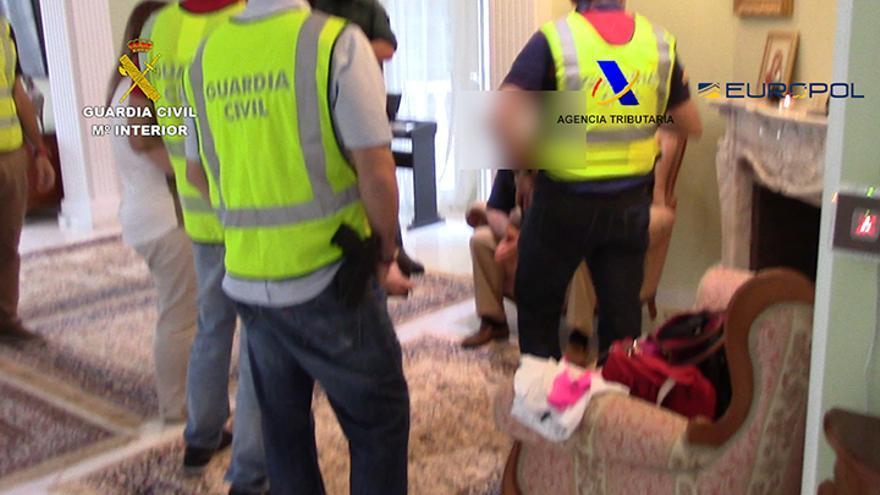 Detención de uno de los integrantes de la organización criminal rusa asentada en Tenerife