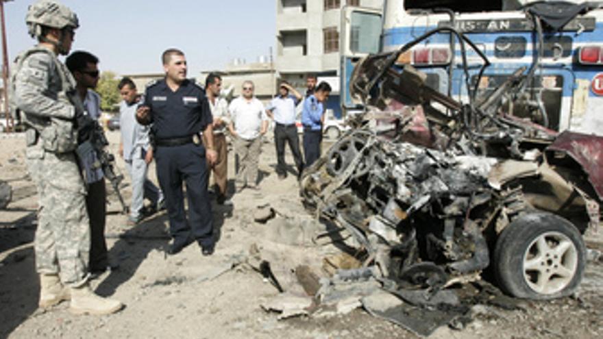 Atentado en una comisaría en Irak