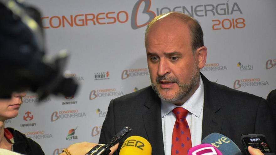 El vicepresidente primero del Gobierno, José Luis Martínez Guijarro