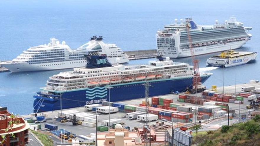 Imagen de archivo del Puerto de Santa Cruz de La Palma PUERTOS DE TENERIFE