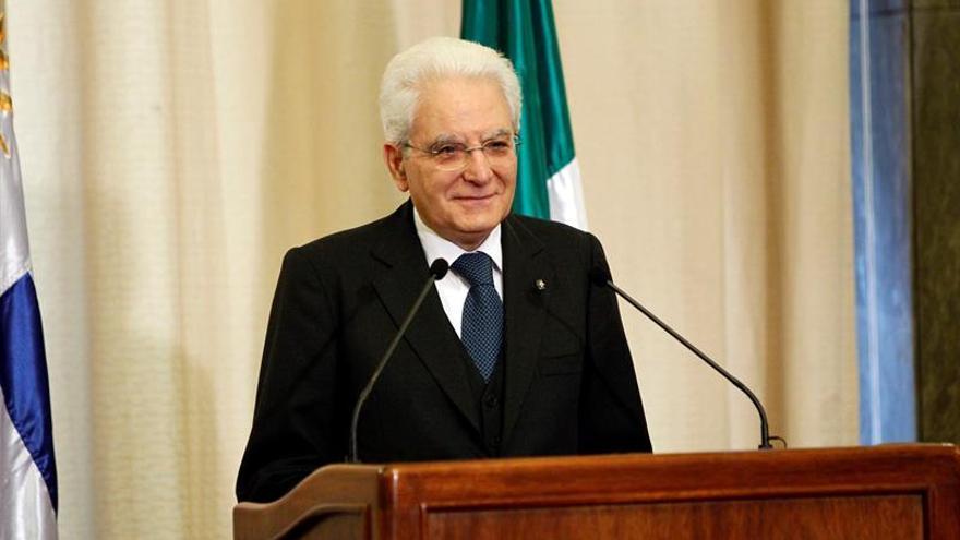 Mattarella promulga la ley electoral italiana pese a la oposición de algunos partidos
