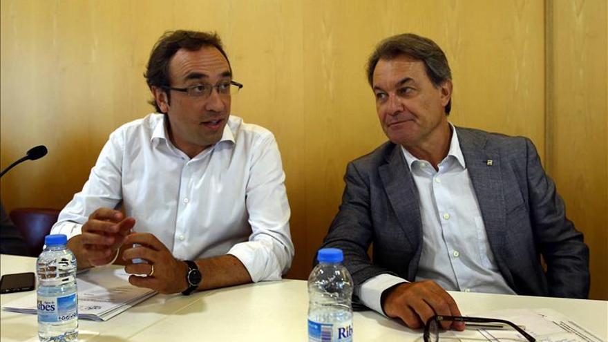 CDC y ERC votarán finalmente a favor de la comparecencia de Mas por el 3 por ciento