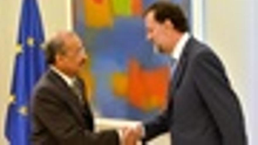 Rajoy Con El Ministro Saudí De Transportes